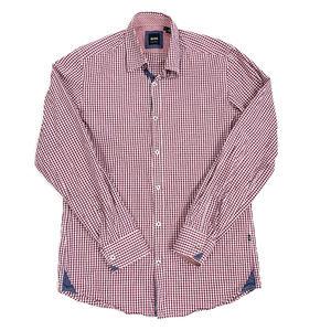 BOSS Hugo Boss LS Gingham Casual Button-Down Shirt